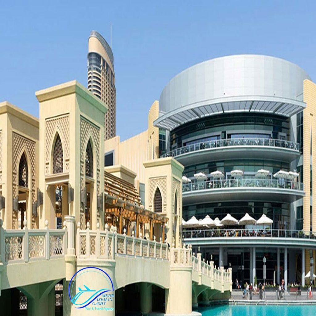 هتل های نزدیک به مراکز خرید دبی