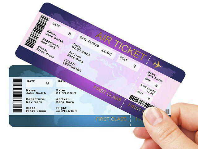 انواع بلیط هواپیما و بلیط ارزان