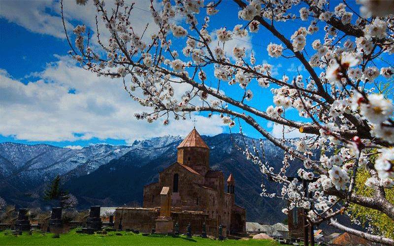 بهار-در-ارمنستان