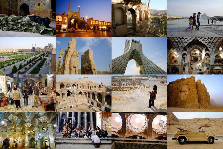 سفر به شهرهای زیبای ایران-